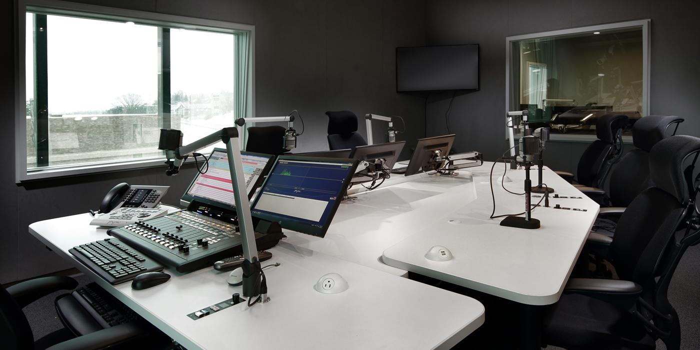 WDVE studios